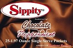 Sippity Chocolate Peppermint Hot Chocolate Mix<br/>Box of 25-1.97 oz Single Serve Packets