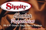 Sippity Chocolate Peppermint Hot Chocolate Mix<br/>Box of 50-1.97 oz Single Serve Packets