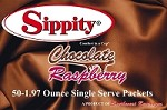 Sippity Chocolate Raspberry Hot Cocoa Mix<br/>Box of 50-1.97 oz Single Serve Packets