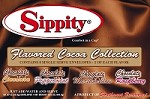 Sippity Hot Chocolate Mix Flavored Cocoa Collection Box<br/>Box of 8-1.97 oz Single Serve Assorted Flavored Envelopes.