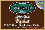 Kemosabe Lite Chocolate Hazelnut Gourmet Flavored Coffee<br/>Box of 25-0.65 oz Single Serve Packets