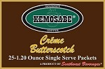 Kemosabe Creme Butterscotch Gourmet Flavored Coffee<br/>Box of 25-1.20 oz Single Serve Packets
