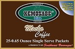 Kemosabe Lite Mocha Gourmet Flavored Coffee<br/>Box of 25-0.65 oz Single Serve Packets