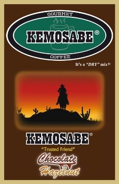 Kemosabe Chocolate Hazelnut Gourmet Flavored Coffee<br/>1-0.90 Oz. Single Serve Envelope