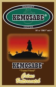 Kemosabe Creme Butterscotch Gourmet Flavored Coffee<br/>1-1.20 Oz. Single Serve Envelope