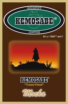 Kemosabe Mocha Gourmet Flavored Coffee<br/>1-0.90 Oz. Single Serve Envelope