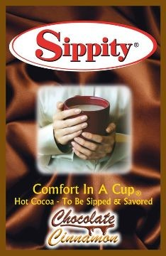 Sippity Chocolate Cinnamon Hot Chocolate Mix<br/>1 Single Serve Envelope 1.97 oz.
