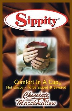 Sippity Chocolate Marshmallow Hot Chocolate Mix<br/>1 Single Serve Envelope 1.97 oz.