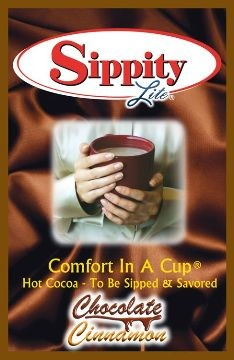 Sippity Lite Chocolate Cinnamon Hot Chocolate Mix<br/>1 Single Serve Envelope-0.93 oz.