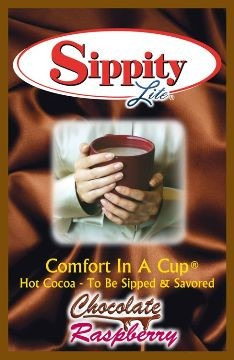 Sippity Lite Chocolate Raspberry Hot Chocolate Mix<br/>1 Single Serve Envelope-0.93 oz.